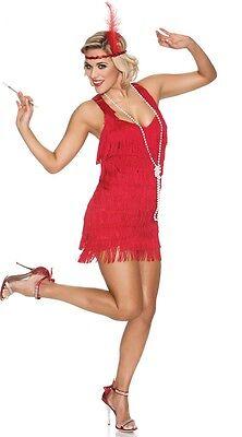 1920s Vintage Flapper Fringe Gatsby Charleston Tassel Dress Halloween Costume