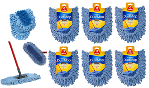 O-Cedar-Flexible-Microfiber-head-Dual-Action-Dust-Mop-Refill-New