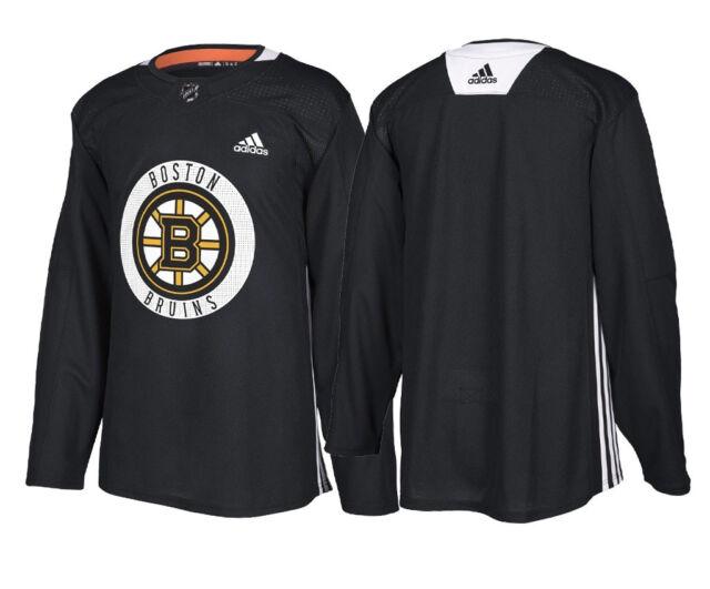 fc7b223e Boston Bruins Adidas Authentic Black Player Practice Jersey