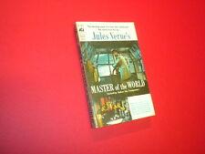 MASTER OF THE WORLD - JULES VERNE Ace vintage paperback D-504 VINCENT PRICE sf
