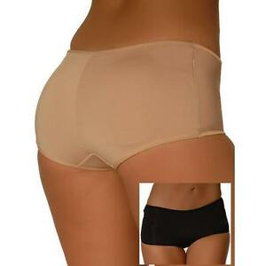 1417b7dbb Butt Booster Low-Rise Padded Panty Booty Brief Rear Enhancer Shaper ...