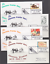 thumbnail 1 - 1993-97th-Annual-Cheyenne-Wyoming-Frontier-Days-covers-complete-set-of-9-VF