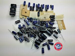 Icom IC-R7000 Receiver Capacitor Replacement Kit Capacitors