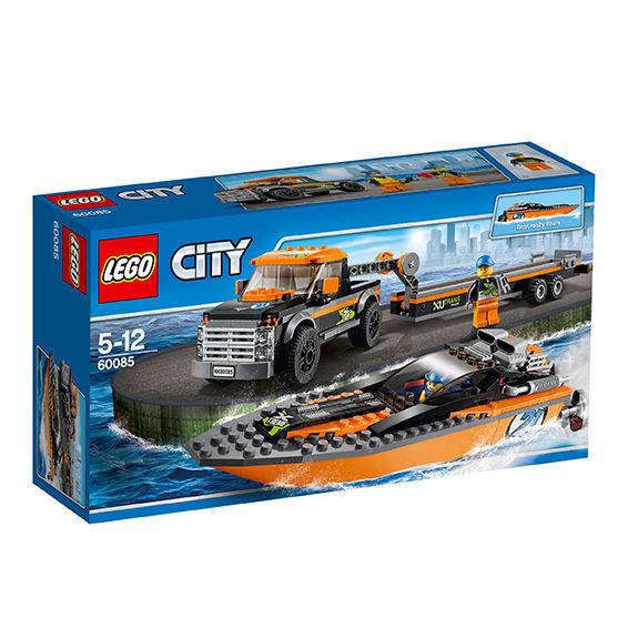 LEGO City Allradfahrzeug mit PowerStiefel (60085)