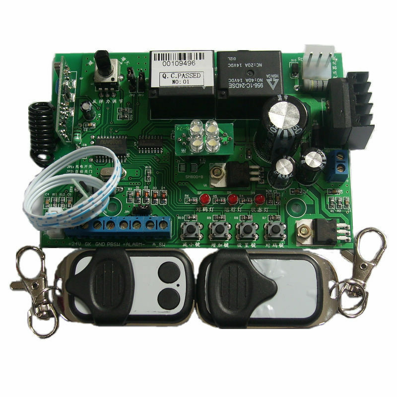 Replace Circuit board controller for Garage gate opener motor with 2 remotes