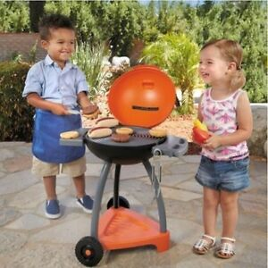 Image Is Loading Little Tikes Sizzle N Serve Play Kitchen For