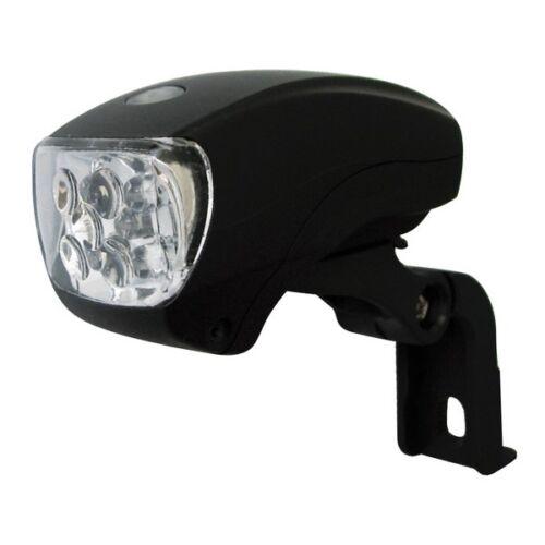fanalino anteriore pocket al telaio nero MV-TEK illuminazione bici