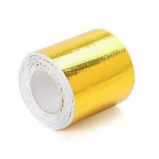 1m Alu-Titan Hitzeschutzschlauch selbstklebend ID 5mm *** Wärmeschutz Aluminium