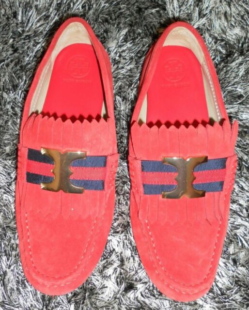 3d2d1957a0d81 Frequently bought together. Tory Burch Gemini Link Nantucket Red Suede ...