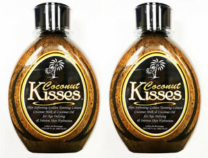 Ed-Hardy-Coconut-Kisses-Tanning-Bed-Lotion-13-5-oz-LOT-OF-2
