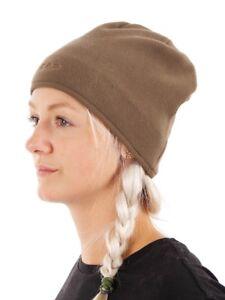 Image is loading CMP-Beanie-Fleece-cap-Winter-hat-brown-insulating- c339ed26601