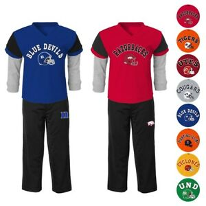"NCAA ""Charger"" Long Sleeve T-Shirt & Pants Set Infant Toddler Boys Collection"