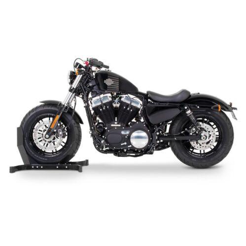 Motorradwippe Motorrad-Ständer Vorderrad Radhalter vorne Montageständer schwarz