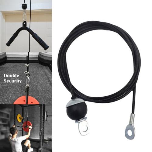2,3 m Fitness DIY Pulley Kabel System Unterarm Arm Hand Festigkeit Ausbildung