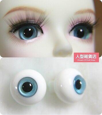 16mm  For BJD DOD AOD MK OK RD Doll Dollfie Glass Eyes Outfit Grey blue