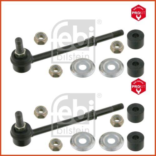 2 x FEBI couplage tige pendulaire poteau Stabilisateur Set Avant NIssan 3835164