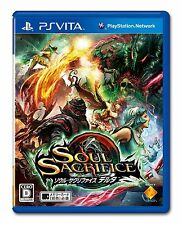 PS Vita SOUL SACRIFICE DELTA Japan Import Official Free Shipping F/S
