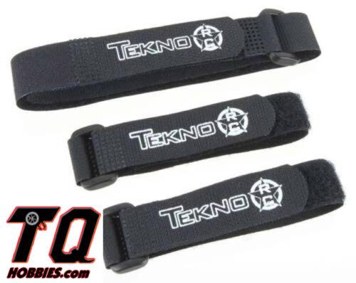 Fast shipping+tracking# 2 short 1 long Tekno R//C TKR40007K Battery Straps