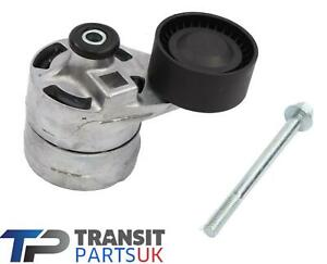 FORD-TRANSIT-MK7-FAN-DRIVE-BELT-TENSIONER-WITH-BOLT-2-4-TDCi-2006-ON-BRAND-NEW