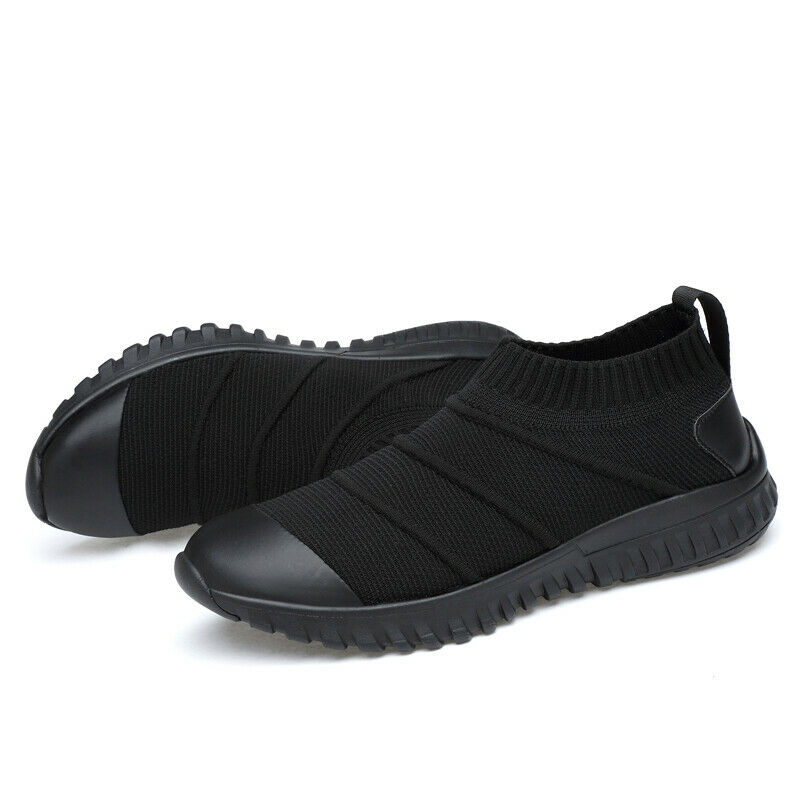 2019 New Mens Slip On Low Top Sock shoes Running Walking shoes Casual Sports Hot