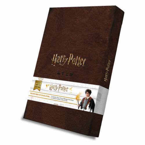 Cartamundi Harry Potter Officiel Édition Limitée 8 x cartes à jouer Collector Set