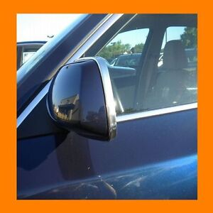 CHROME FRONT//BACK ROOF TRIM MOLDING 2PC W//5YR WRNTY+FREE INTERIOR PC FITS HUMMER