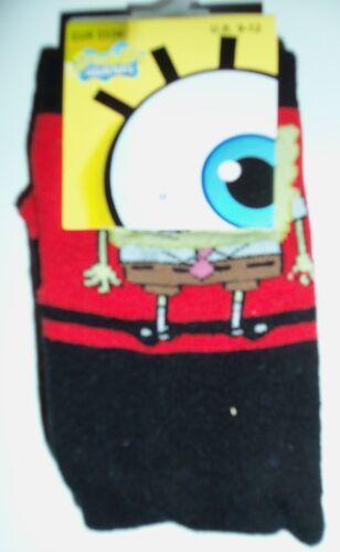 Boys SpongeBob Slipper Socks with non slip soles in 4 varieties