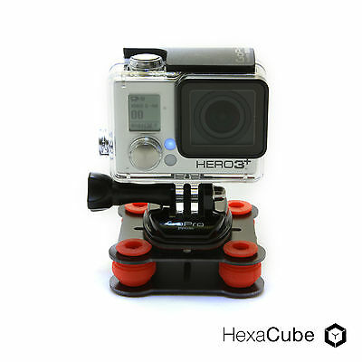 Vibrations-Dämpfungskit f. Actioncams wie GoPro, Gimbals, o.ä. Vibrationsdämpfer
