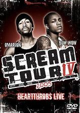 SCREAM TOUR IV - HEARTTHROBS LIVE 2005 rare Rap Music dvd LIL BOW WOW Omarion