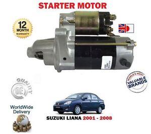 for suzuki liana 1 6 m16a 16v manual 2001 2008 new starter motor ebay rh ebay com au