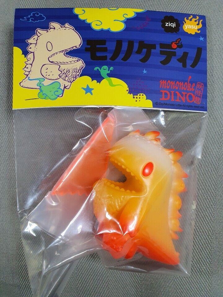 LITTLE DINO Ghost GLOW Mononoke Editions By Yasu Ebinekoya Ziqi Unbox Sofubi