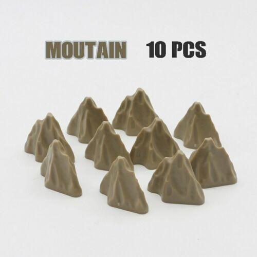 Creative Play Accessories Building Block Figure Military Tree Grass Bush Brickse