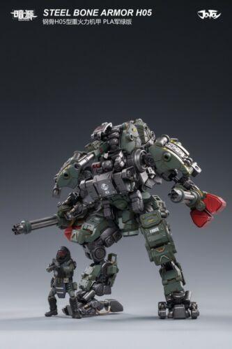 Joytoy 1//25 Steel Bone H05 Heavy Firepower Armor Military Green Ver.