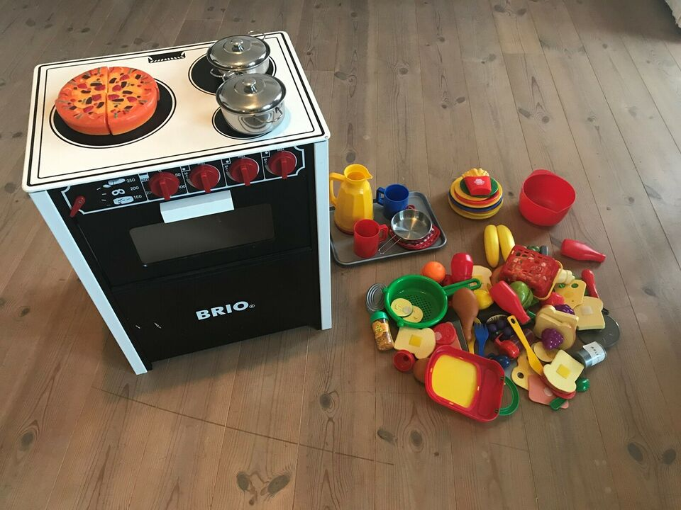 Brio køkken sort