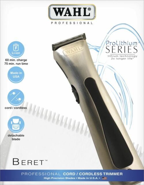 Wahl ProLithium Beret Haarschneidemaschine NEU