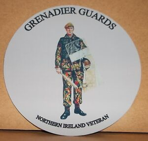 Parachute Regiment Northern Ireland Veteran  9cm vinyl sticker personalised..