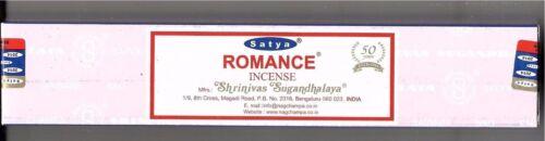 Nag Champa Incense R-EXPO Star anise /& Tonka 15 Grams Satya Romance
