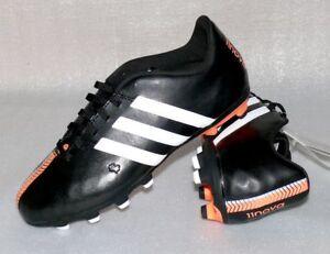 Details zu adidas B40159 11 Nova FG J Leder Fußball schuhe Soccer 36 23 US 4,5 Black White
