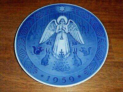 Night of Christmas Year Plate 1959 Parallel Import Goods Royal Copenhagen