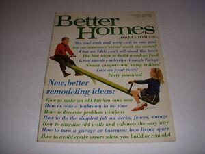 Vintage Better Homes And Gardens Magazine April 1965