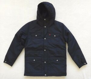Levi's men's coat with jersey hood