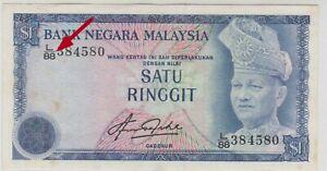 Mazuma *M771 Malaysia 4th Aziz Taha $1 L/88 384580 GEF
