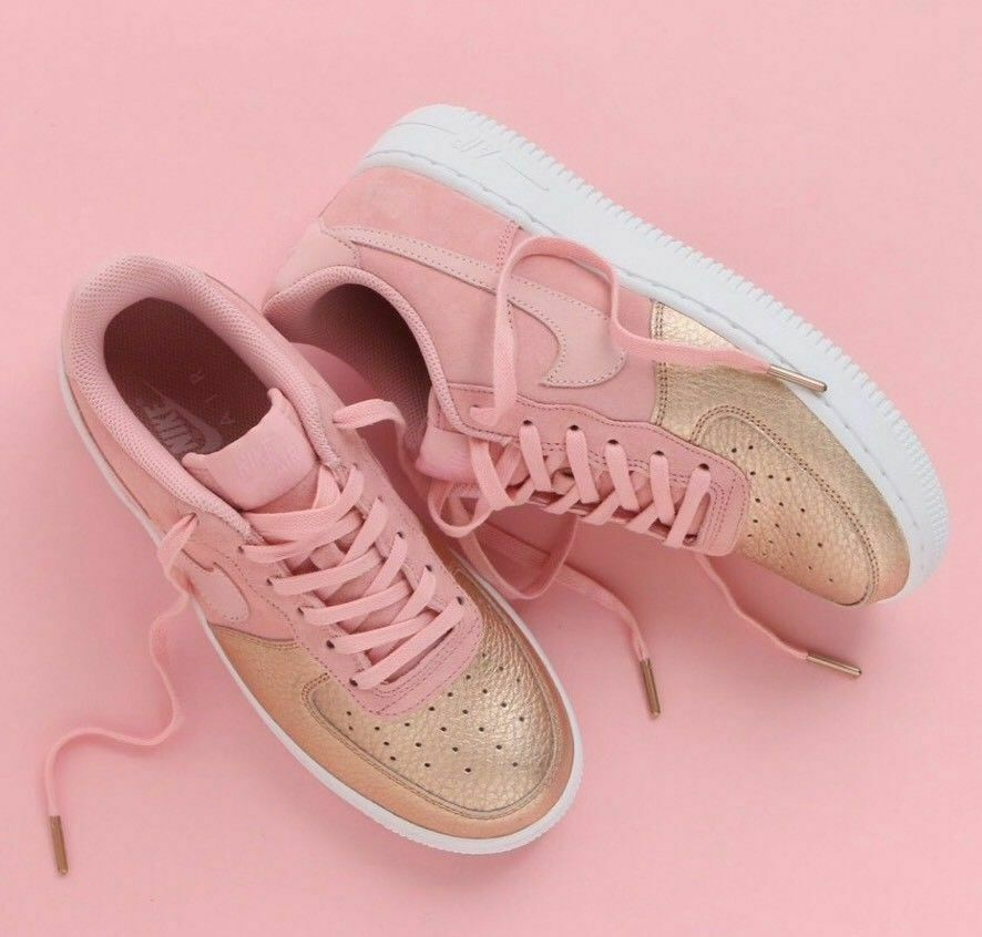 NIKE AIR FORCE FORCE FORCE 1 QS (GS) Donna  Youth Girls scarpe AH8147 600 5.5Y EUR 38 7334a8