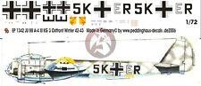 Peddinghaus 1/72 Junkers Ju 88 A-4 Markings III./KG 3 Russia Winter 1941-42 1342