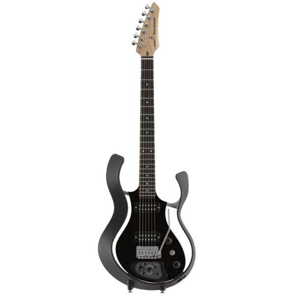 vox starstream electric guitar with onboard effects black black w gig bag for sale online ebay. Black Bedroom Furniture Sets. Home Design Ideas