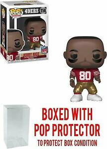 Funko-Pop-114-NFL-Jerry-Rice-w-Box-Protector-San-Francisco-49ers