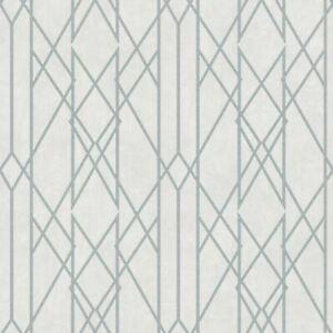 Portefeuille-Lineaire-Papier-Peint-Geometrique-Gris-Argent-Rasch-215113