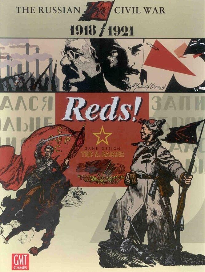 GMT Wargame Wargame Wargame Reds  (2nd Printing) - New in Shrinkwrap 1e5860