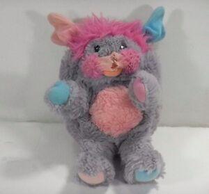 Vintage 1986 Mattel POPPLE Small Plush Stuffed Animal Toy