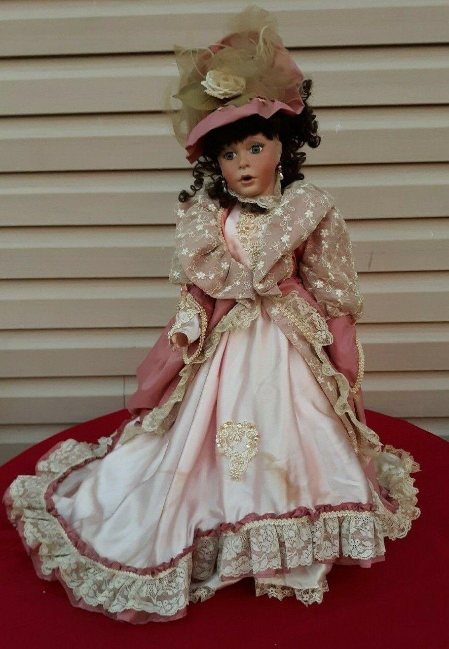 Janis  Berard Kais 28  Full corpo Porcelain bambola Girl Limited 0018 1000  ✞  consegna e reso gratuiti